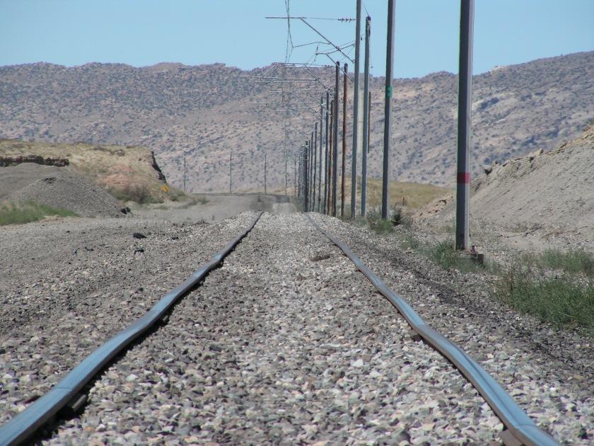 Navajo Mine Railway Track