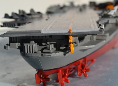 USS Midway, stern