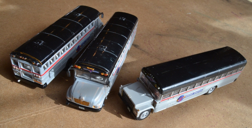 Three Buses