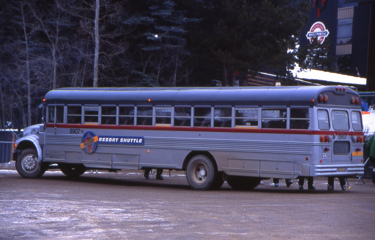 Winter Park Resort Shuttle Buses