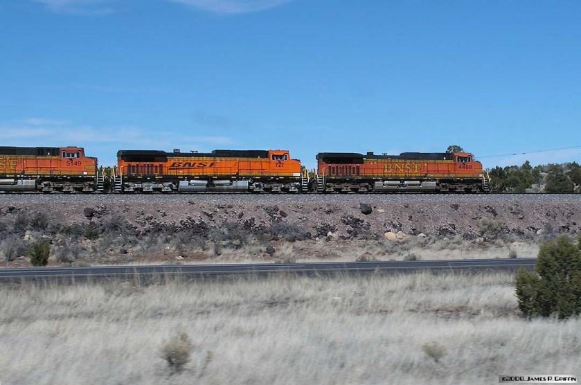BNSF 4488 Flagstaff