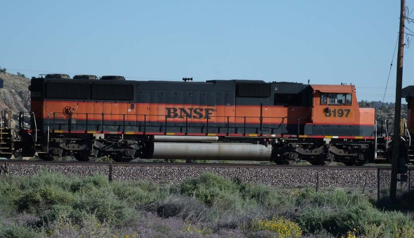 BNSF EMD Power – Action Road