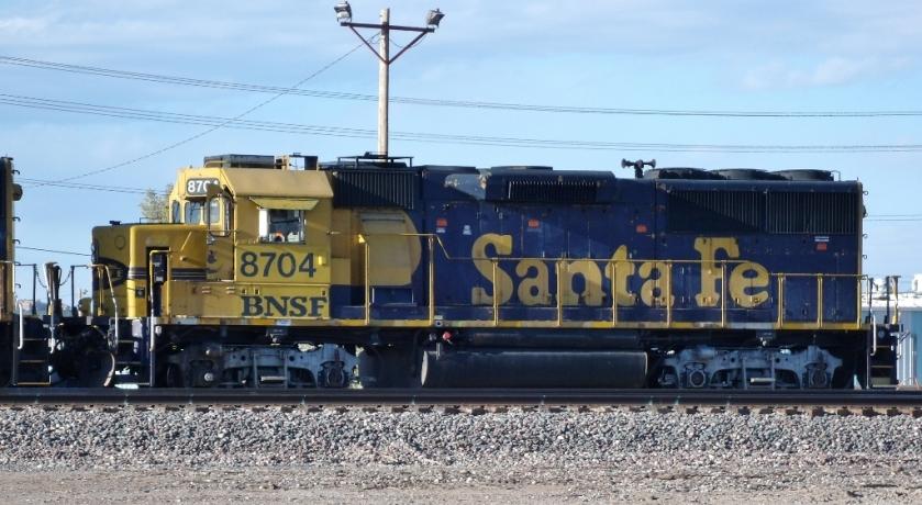 BNSF 8704