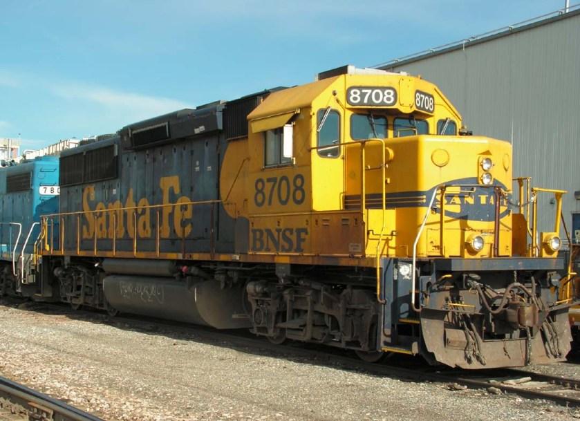 BNSF 8708
