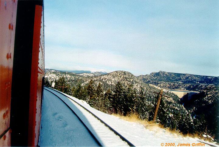 Ski Train Gross Reservoir Crescent