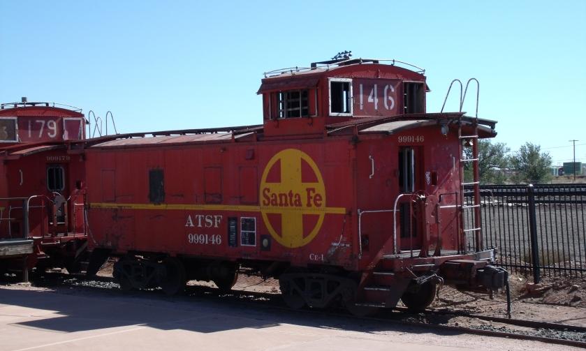 atsf caboose 999146