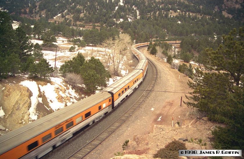 Ski Train Plainview Jan 2 1998