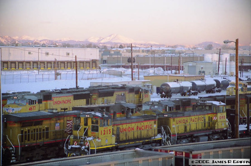 Denver North Yard 2006 12 31