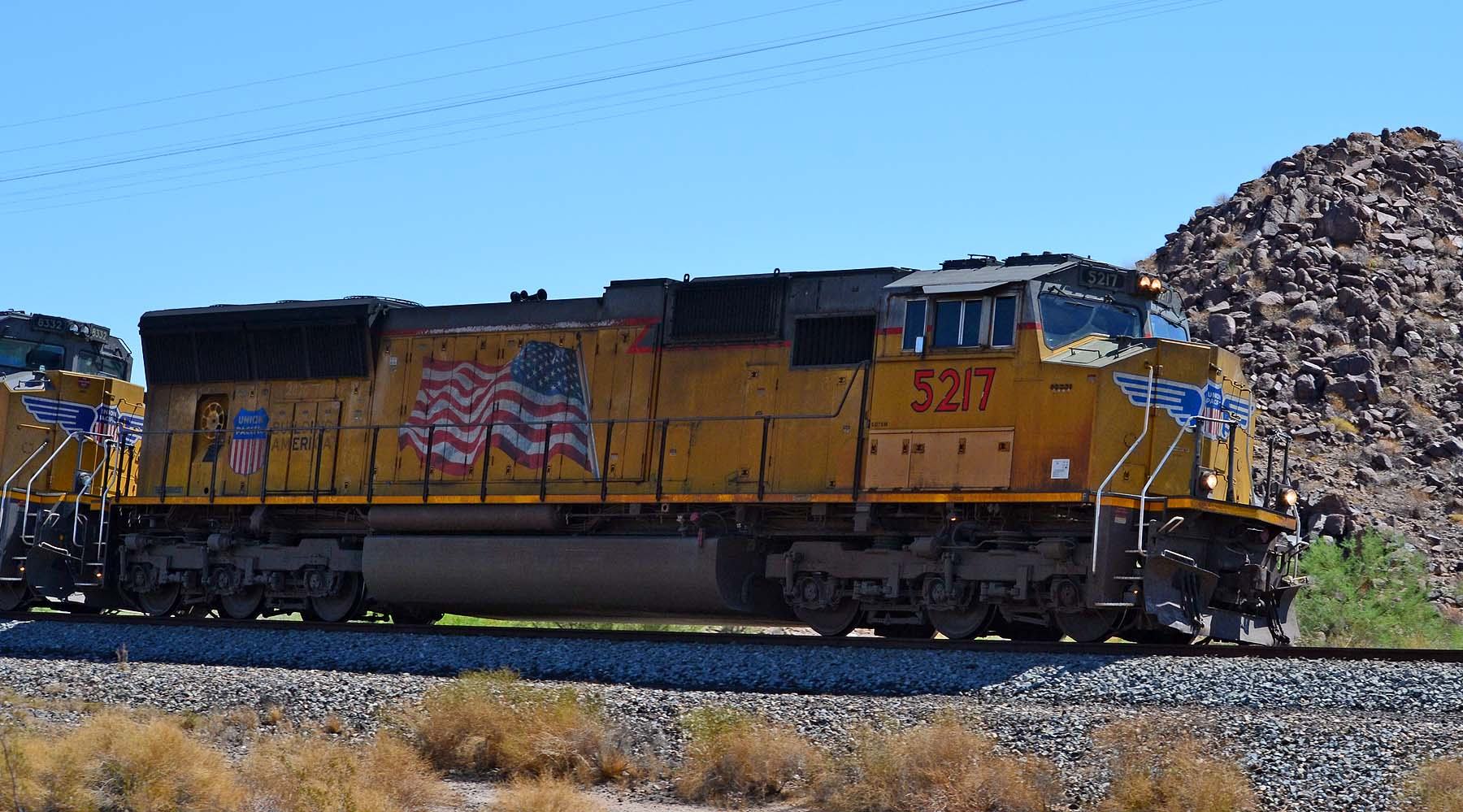 UP5217 SD70M