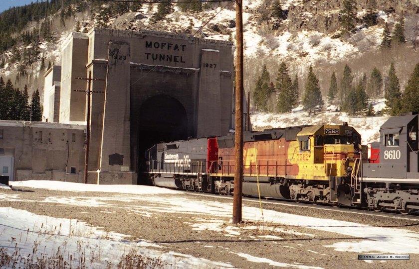 Moffat East Portal SP8560 SP7562 SP8610