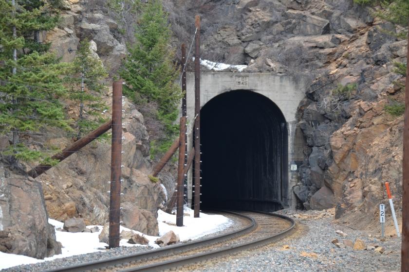 Tunnel 21 east portal