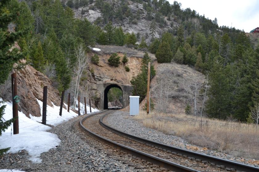 Tunnel 22 east portal