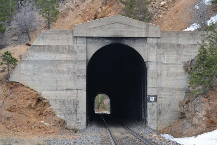 Tunnel 20 West Portal