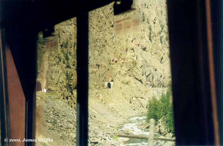 Gore Canyon tunnel 37 36