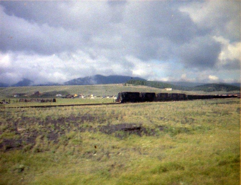 Tabernash coal train